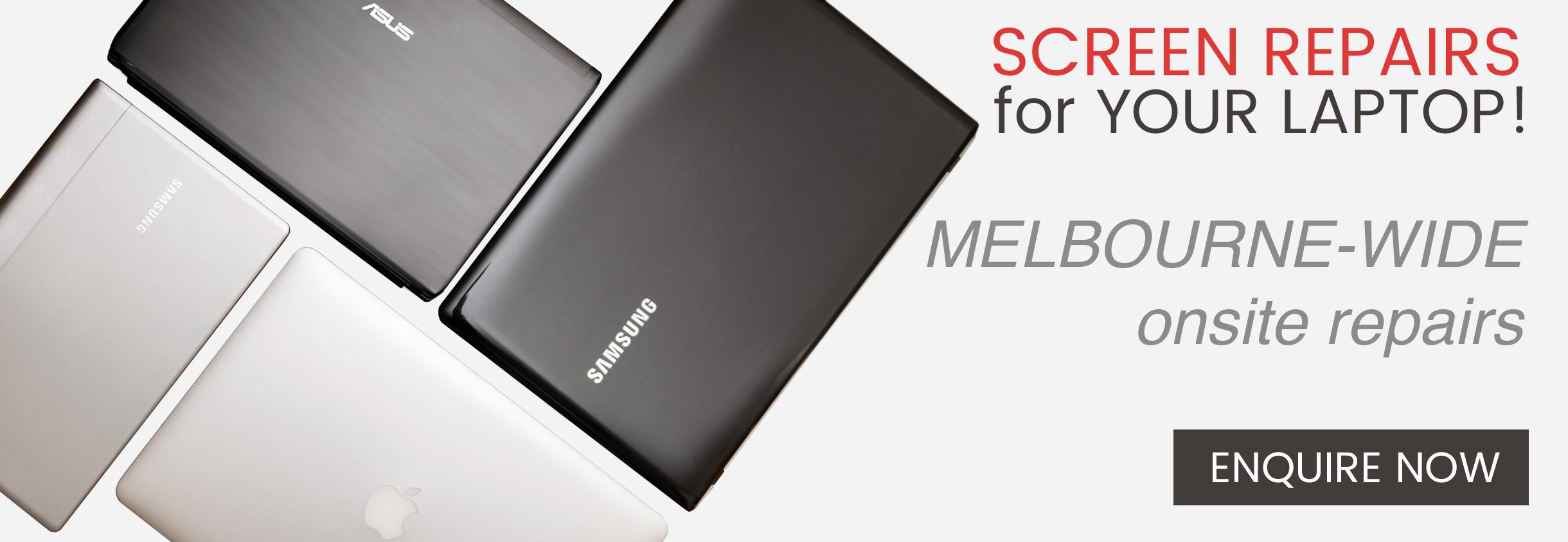 Laptop Screen Repair Replacement Melbourne